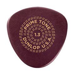 Dunlop Primetone Semi Round Sculpted Picks - 1.3mm - 3 Pack