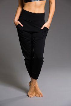 High Waist Pant - Black