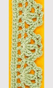 Crochet edging :: Crochet edgings :: Pattern samples :: Crocheting :: RukoDelie.by :: RukoDelie.by