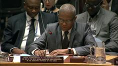 20170321 VIDEO Maman Sambo Sidikou (Special Envoy) on the situation in the DRC - Security Council, 7903rd meeting and link to report