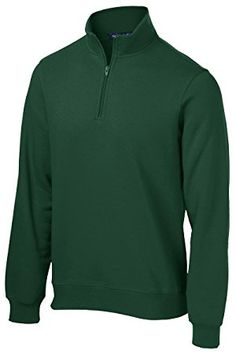 Sport-Tek 1/4-Zip Sweatshirt>XL Forest Green ST253 Review