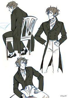 Muirin007: Professional nerd — miyuli:   After posting my Black Tie and White Tie...