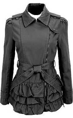 Fun structure to pair with leggings or skinny jeans. Pretty cool if you want an edgy/cute look.