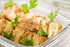 Tofu plnené pikantným pestom z tekvicových jadierok