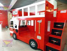 cama camion de bomberos - Buscar con Google