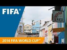 Ô meu rei!  É assim que a Fifa apresenta Salvador para o mundo! World Cup Host City: Salvador Jamilcredi Consignados na torcida!