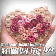 Royal icing flower- rose