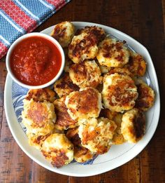 baked cauliflower nuggets - Hungry Happens!