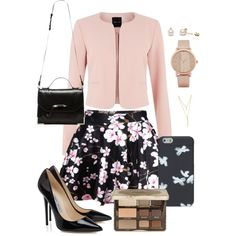 Untitled #61 by yasmeenf on Polyvore featuring polyvore, fashion, style, Mackage, CC SKYE, ALDO and Too Faced Cosmetics