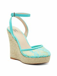 The Lacie Wedge Sandal VS Collection - These would go perfectly with a dress I have yet to wear...