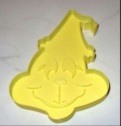 New grinch cookie cutter made out of plastic by LONGBOY69 on Etsy