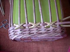 Moje pletení z papíru - Fotoalbum - NÁVOD - VZORY PLETENÍ - NÁVOD NA DIAMANTOVOU VAZBU