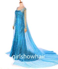 Elsa Costume Elsa Dress Queen Elsa costume Disney by girlshowhair, $129.99