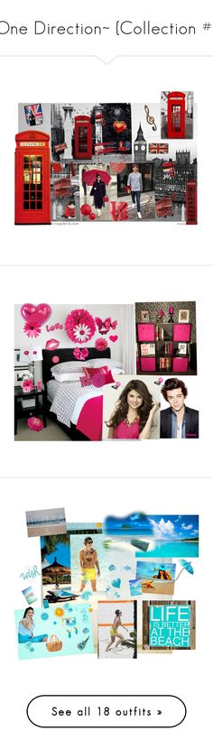 """""""~One Direction~ {Collection #1}"""" by stylistic-1 ❤ liked on Polyvore featuring Crate and Barrel, 1Wall, Universal Lighting and Decor, John Lewis, Fermob, Lava, Urban Outfitters, Höganäs Ceramic, Design 55 and WALL"""