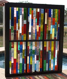 I could have a houseful of windows like this!! Artful Salvage, ShellyRae Wood