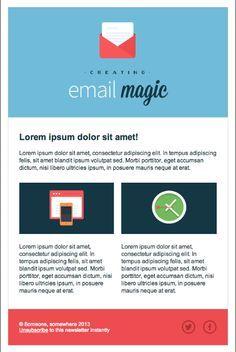 HTML newsletter design - Google Search