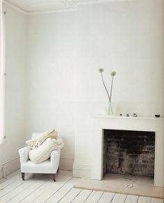 white white space