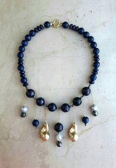 Guarda questo articolo nel mio negozio Etsy https://www.etsy.com/listing/471155350/necklace-with-pendants-made-in-italy