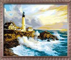 Diy oil painting, paint by number kit- Dawn 16*20 inch. digital oil painting http://www.amazon.com/dp/B00KQFOPLO/ref=cm_sw_r_pi_dp_wWHWvb0PM09KC