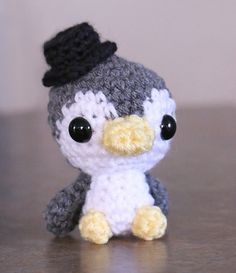 Hey, I found this really awesome Etsy listing at https://www.etsy.com/listing/224935949/amigurumi-penguin-doll-made-to-order