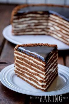 This easy Russian honey cake is made with sour cream layers and plenty of chocolate flavor. This easy Russian honey cake is made with sour cream layers and plenty of chocolate flavor. Sour Cream Chocolate Cake, Honey Chocolate, Best Chocolate Cake, Chocolate Flavors, Russian Honey Cake, Russian Cakes, Russian Desserts, Russian Chocolate, Greek Honey Cake Recipe