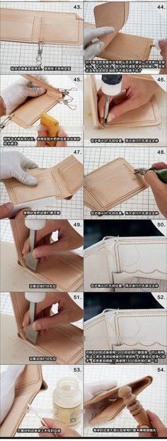 Wallet Leather template set Acrylic Pattern Leathercraft DIY Sewing worker 815 No wallet including Leather Wallet Pattern, Sewing Leather, Leather Craft, Leather Carving, Leather Tooling, Diy Bag With Zipper, Leather Gifts, Leather Totes, Handmade Leather