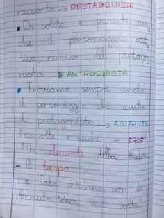 Quaderno di italiano classe 2^ La fiaba Sheet Music, Bullet Journal, Education, 3, Blog, Alphabet, Lab, Art