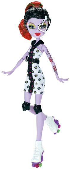 Pinterest: Operetta Skulltimate Roller Maze Mattel Monster High doll. http://www.monsterhighcollector.com/viewstory.php?sid=97
