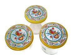 Vintage Glass Jars with Cottage Chic by MerrilyVerilyVintage, $12.00