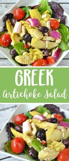 Greek Artichoke Sala