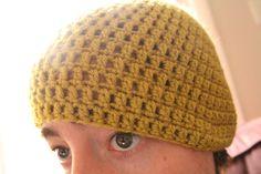 Crochet Hat Tutorial -easy