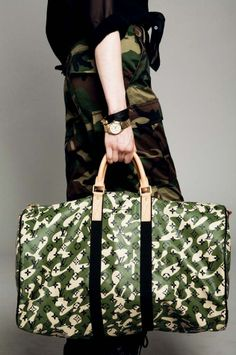 Louis Vuitton Camouflage Monogramouflage Keepall 55.. my personal fav