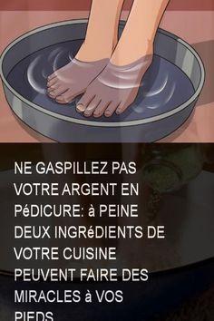 Ne gaspillez pas votre argent en pédicure: à peine deux ingrédients de votre cuisine peuvent faire des miracles à vos pieds #Pieds #Argent #Ingredient #Ingredients #Faire #Cuisine #Peuvent #Miracle