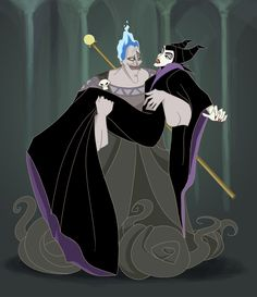 Hades and Maleficent by Altena21