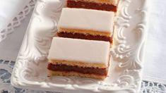 Domáce punčové rezy Sweet Desserts, Sweet Recipes, Cake Recipes, Czech Recipes, Ethnic Recipes, Vanilla Cake, Tiramisu, Cheesecake, Deserts