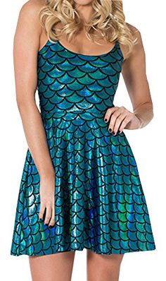 Ariel Cosplay, Mermaid, Printing, Bright, Amazon, Stuff To Buy, Clothes, Dresses, Fashion