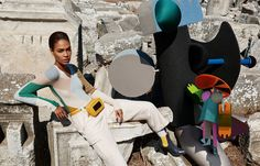 M/M Paris x Viviane Sassen for Missoni's AW14 Advertising Campaign