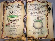 Spells and Potions Book | ... /charmed/charmed-ones-book-shadows ...
