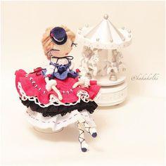 Beautiful amigurumi doll by Kukukolki on instagram. (Inspiration).