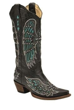 Country outfitters studded boots