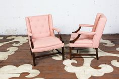 Petite Pair of Armchairs — Chairloom