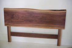 Gorgeous wooden headboard