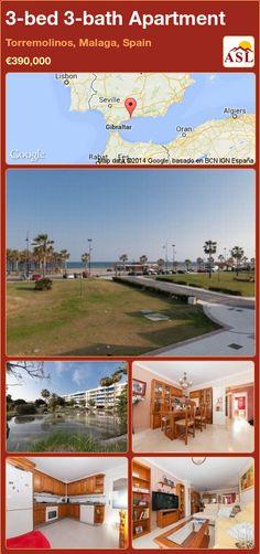 3-bed 3-bath Apartment in Torremolinos, Malaga, Spain ►€390,000 #PropertyForSaleInSpain