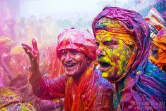 Fête des couleurs Holi