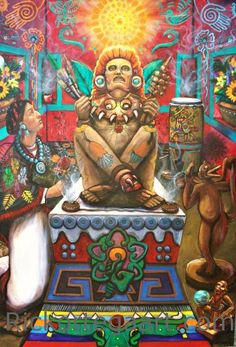 """""""To know nothing of what happened before you were born, is to forever remain a child.""""    ~  Cicero   Artist:  Rick Ortega * Los Aztecas série  ॐ lis"""