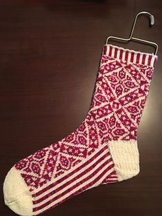 This pattern was originally designed for the Sock Club at the Yarn Store At Nob Hill