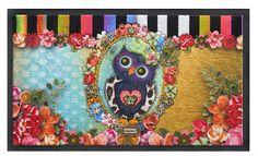 Nieuw in de collectie: kleurrijke deurmatten van Melli Mello. In diverse dessins.