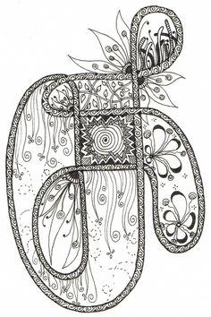 Творческий эскизное с Judy West: кельтский вызов 24