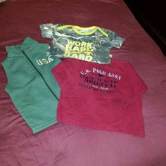 Baby clothes Used but still in good condition US polo, duck dynasty Other