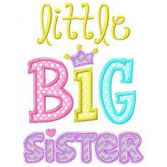 Little Big Sister Shirt or onesie